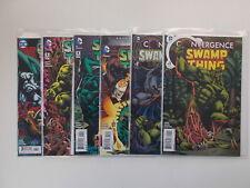 6x Convergence Swamp Thing # 1 - 6. 2015-2016/DC USA COMIC. ad 1