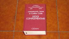 ALPA ZATTI COMMENTARIO BREVE AL CODICE CIVILE LEGGI COMPLEMENTARI ED. CEDAM 1995