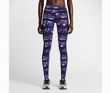 NIKE CLASH EPIC LUX RUNNING TIGHTS/PANTS PURPLE,BLUE 686040-513 WOMENS SIZE XS