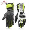Guanti Moto Professionali in Pelle Motocross Racing Pista protezione Carbonio