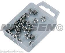 25 Pieza Tipo HELICOIL inserciones roscadas M6 X 1mm-Bobinas de reparación del hilo de rosca