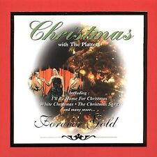 Christmas With The Platters CD 1999 St. Clair Entertainment Forever Gold Pop