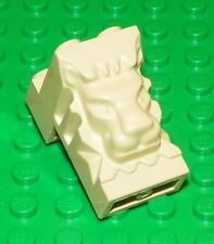 LEGO - Brick, Modified 2 x 3 x 3 with Cutout and Lion Head - Tan