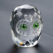 Crystal owl ornament lovely birthday gift, animal, NEW in box