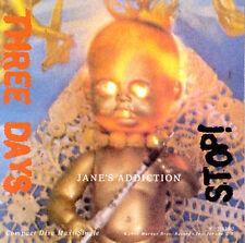 Three Days/Stop [Single] by Jane's Addiction (CD, Jul-1990, Warner Bros.)