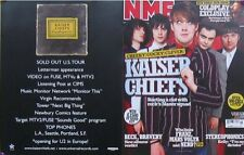KAISER CHIEFS ON NME PROMO PAMPHLET (N6)