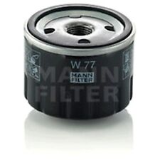 Mann W77 Oil Filter Spin On 59mm Height 76mm Outer Diameter Service Replacement