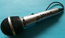 Neneh Cherry, hand signed in person Microphone.