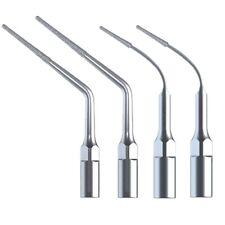 4X Dental Diamond Endo Perio Insert Tips for DTE SATELEC NSK Ultrasonic Scaler
