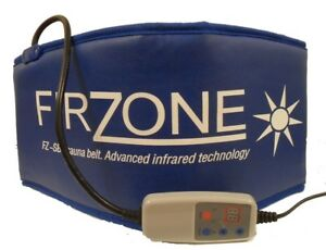 Firzone sauna belt slimming toning far infrared sweat belts portable wrap Blue