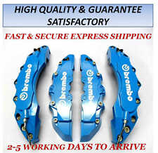 HIGH QUALITY BIG & MEDIUM LIGHT BLUE CAR BRAKE CALIPER COVERS F/R 4 PCS