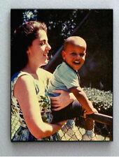 Rare Framed 1963 Baby Barack Obama with mom Vintage Photo. Jumbo Giclée Print