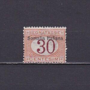 ITALIAN SOMALILAND SOMALIA 1909, Sc# J15, CV $60, part set, MH