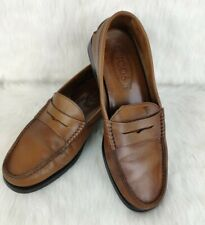 VINTAGE JP TOD'S Loafers Brown Size 7½  Isole 26,7 cm - 10,5 in Made in Italy