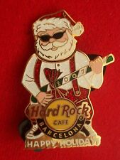 HRC Hard Rock Cafe Barcelona Christmas 2007 Bobble Head Rockin Santa LE250