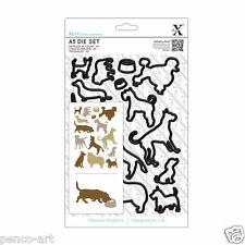 Docrafts Xcut 15 piece A5 die set poodle terrier dogs laborador bull DOG collie