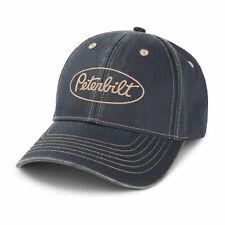 Peterbilt Motors Cap - Blue Distressed Over Dyed Trucker Hat
