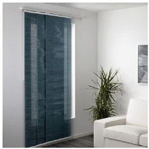 Ikea Fonsterviva 24x118 Panel Curtain Blue Gray 503.705.03 NEW