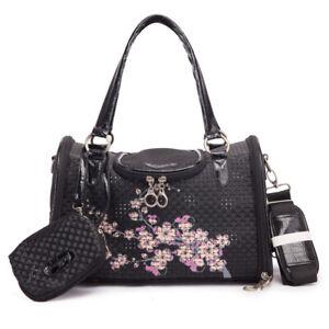 Portable Pet Carrier Flower Pattern Puppy Cat Dog Handbag Travel Totebag Outdoor