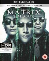 The Matrix Trilogy DVD (2018) Keanu Reeves, Wachowski (DIR) cert 15 9 discs