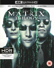The Matrix Trilogy DVD (2018) Keanu Reeves, Wachowski (DIR) cert 15 9 discs