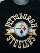 Pittsburgh Steelers boys Medium 10/12 long sleeve thermal type shirt - Youth