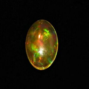 LOOSE Natural Mexican Fire Opal Cabochon Volcanic Fiery Orange Large Solid