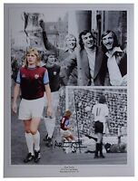 Alan Taylor SIGNED autograph 16x12 HUGE photo West Ham Football AFTAL & COA