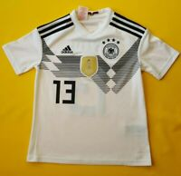 5+/5 Germany soccer jersey 13-14 years 2018 shirt BR3146 soccer Adidas ig93