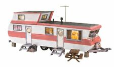 Woodland Scenics BR5862, O Gauge Built & Ready Double Decker Trailer, LED Lights
