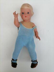 alte Schildkröt Puppe No. 34 aus Familienbesitz, Kleidung original