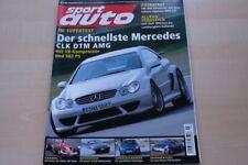 3) Sport Auto 03/2005 - Seat Ibiza Cupra 1.8 20V T - Nissan 350 Z Roadster mit