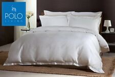POLO Queen Bed Quilt Cover Set - Matisse Swan White