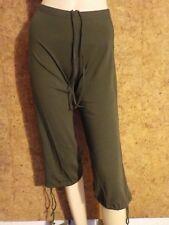 pantalon de danse, pantacourt, corsaire  DANSCO PC749, Kaki en  M