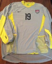 Meola Soccer/Football Jersey #19 for Men in Yellow/Grey (Size: Extra Large) Y/G