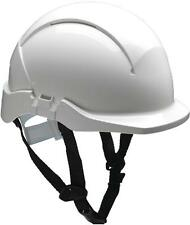 Centurion Concept ABS Hard Hat White Cushioned High Quality With Chinstrap J4