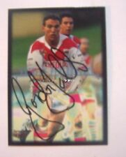 Autograph St George Illawarra Dragons Single NRL & Rugby League Trading Cards