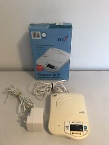 BT Response 15+ Digital Answering Machine tested working