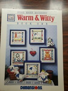 Susan Marie McChesney Warm & Witth Dimensions Book One 117 Cross Stitch Leaflet