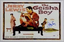 JERRY LEWIS Signed THE GEISHA BOY Movie Poster 11x17 Photo PSA/DNA COA AUTOGRAPH