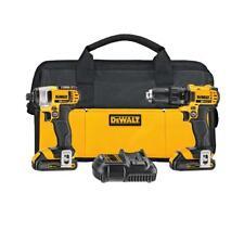 DEWALT DCK280C2R 20-Volt Max Li-Ion 20V Compact Drill & Impact Driver Combo Kit