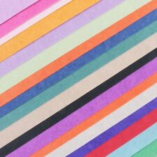 20x LUXURY TISSUE PAPER SHEETS Mixed Colours Gift Wrap Packing Filling Present