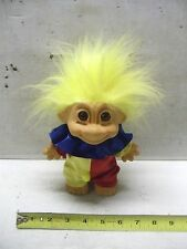 """Large Troll Doll Clown Outfit By Russ Nice 10"""" high"""