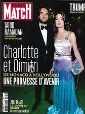 PARIS MATCH n°3573 09/11/2017  C.Casiraghi & Dimitri/ Trump/ T.Ramadan/ Louvre