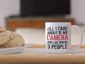 Photographer Humor Funny Camera 11oz Mug Novelty Design Gift Photography
