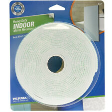Perma Products PERMASTIK INDOOR MIRROR MOUNTING TAPE 5mx32mm Heavy Duty WHITE