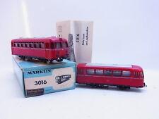 LOT 53794 | Set Märklin H0 3016 Schienenbus 795 in OVP & 4018 Beiwagen 995
