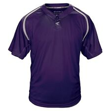 Easton Men's M7 Two Button Homeplate Jersey Purple/Gray Small Polyester Tee