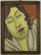 Camille Graeser. expressives Femmes portrait. 1931