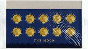 US Stamp Sheet 2016 Global Forever The Moon  #5058 Mint Condition !